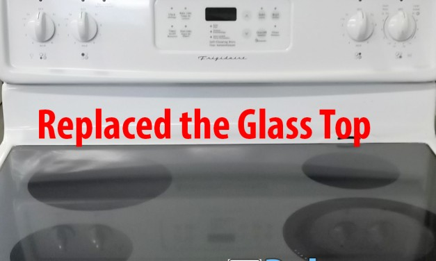 GE Glass Top Range Repaired